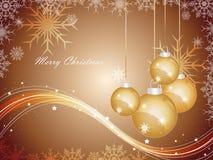 Weihnachtsvektorhintergrund Stockbild