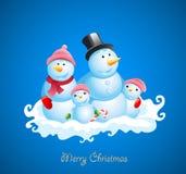 Weihnachtsvektorhintergrund Lizenzfreie Stockfotos