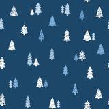 Weihnachtsvektormuster stockfotos