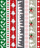 Weihnachtsvektorrand Stockbild