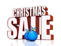 Weihnachtsverkauf Stockfotografie