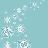 Weihnachtsverkauf Stock Abbildung