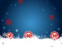 Weihnachtsverkauf Lizenzfreies Stockbild