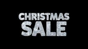 Weihnachtsverkaufs-Text wünscht Partikel-Grüße, Einladung, Feier-Hintergrund