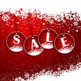 Weihnachtsverkaufshintergrund Stockfotos