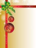 Weihnachtsverzierung stock abbildung