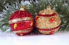 Weihnachtsverzierung Stockfotografie