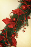 Weihnachtsverzierung lizenzfreie stockbilder