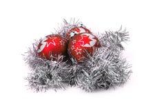 Weihnachtsverzierungen Lizenzfreie Stockfotos