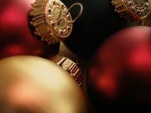 Weihnachtsverzierungen Lizenzfreies Stockbild
