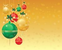 Weihnachtsverzierungen Lizenzfreie Stockbilder