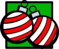 Weihnachtsverzierungen Stockbilder