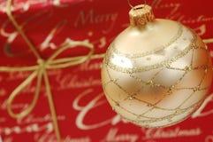 Weihnachtsverzierungen Stockfoto