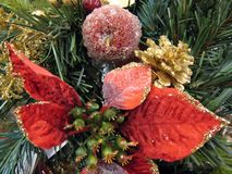 Weihnachtsverzierungen (7) Stockfotografie