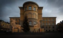 Weihnachtsverzierungen an Norra-Latein Lizenzfreie Stockfotografie