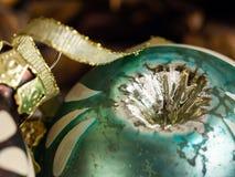 Weihnachtsverzierungsdetail lizenzfreie stockfotografie