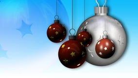 Weihnachtsverzierungsrotation vektor abbildung