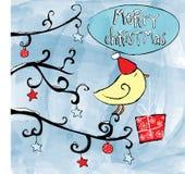 Weihnachtsvogel vektor abbildung