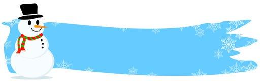 Weihnachtsvorsatz/-fahne Lizenzfreies Stockfoto