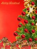 Weihnachtswünsche Stockfoto