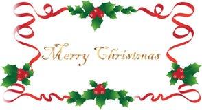 Weihnachtswünsche lizenzfreie abbildung