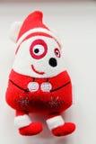 Weihnachtsweiches Spielzeug Santa Claus Lizenzfreie Stockbilder