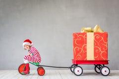 Weihnachtsweihnachtswinterurlaubkonzept Lizenzfreies Stockfoto