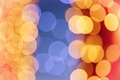 Weihnachtsweinlese bokeh Lizenzfreie Stockbilder
