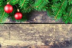 Weihnachtsweinlesehintergründe Lizenzfreies Stockfoto