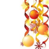 Weihnachtswinter background Lizenzfreie Stockfotos
