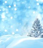 Weihnachtswinter background Stockfotos