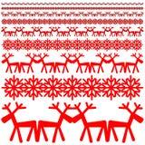 Weihnachtswintermuster Stockfotos