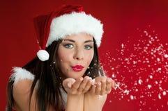 Weihnachtswünsche Stockfotografie