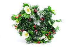 Weihnachtswreath Stockbild