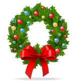 WeihnachtsWreath stock abbildung