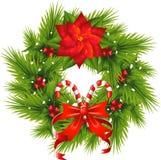 WeihnachtsWreath Lizenzfreies Stockfoto
