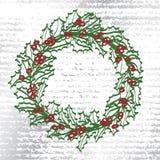 WeihnachtsWreath Vektor Abbildung