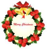 Weihnachtswreath Stockfoto