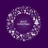 WeihnachtsWreath Stockfotos