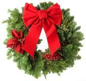 WeihnachtsWreath Lizenzfreie Stockfotos