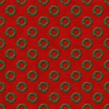 Weihnachtswreath-Hintergrund Stockfotos