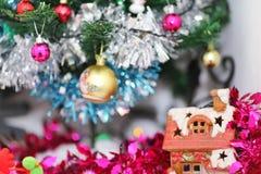 Weihnachtszeit-Hintergrund stockbilder
