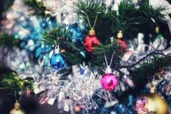 Weihnachtszeit-Hintergrund stockbild