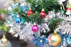 Weihnachtszeit-Hintergrund stockfoto