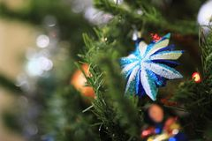 Weihnachtszeit-Hintergrund lizenzfreie stockbilder
