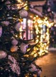 Weihnachtszeit in Moskau Lizenzfreies Stockfoto