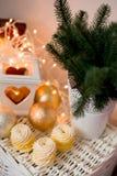 Weihnachtszeitdekoration Stockbild