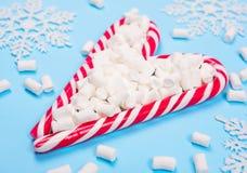 Weihnachtszuckerstangen Lizenzfreie Stockbilder