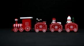 Weihnachtszug lizenzfreie stockbilder