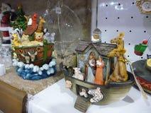 Weihnachtszusammensetzung Noahs Arche Wahl 1 und 2 lizenzfreies stockfoto